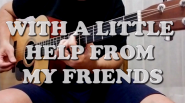 WITH A LITTLE HELP FROM MY FRIENDS (THE BEATLES) ARR. DIEGO RUIZ